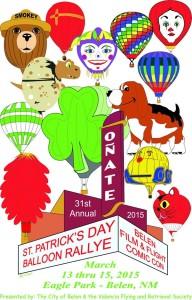 2015 St. Patricks Day Rally Pin Design