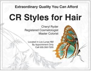 CR Style for Hair Logo
