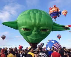 Master Yoda balloon